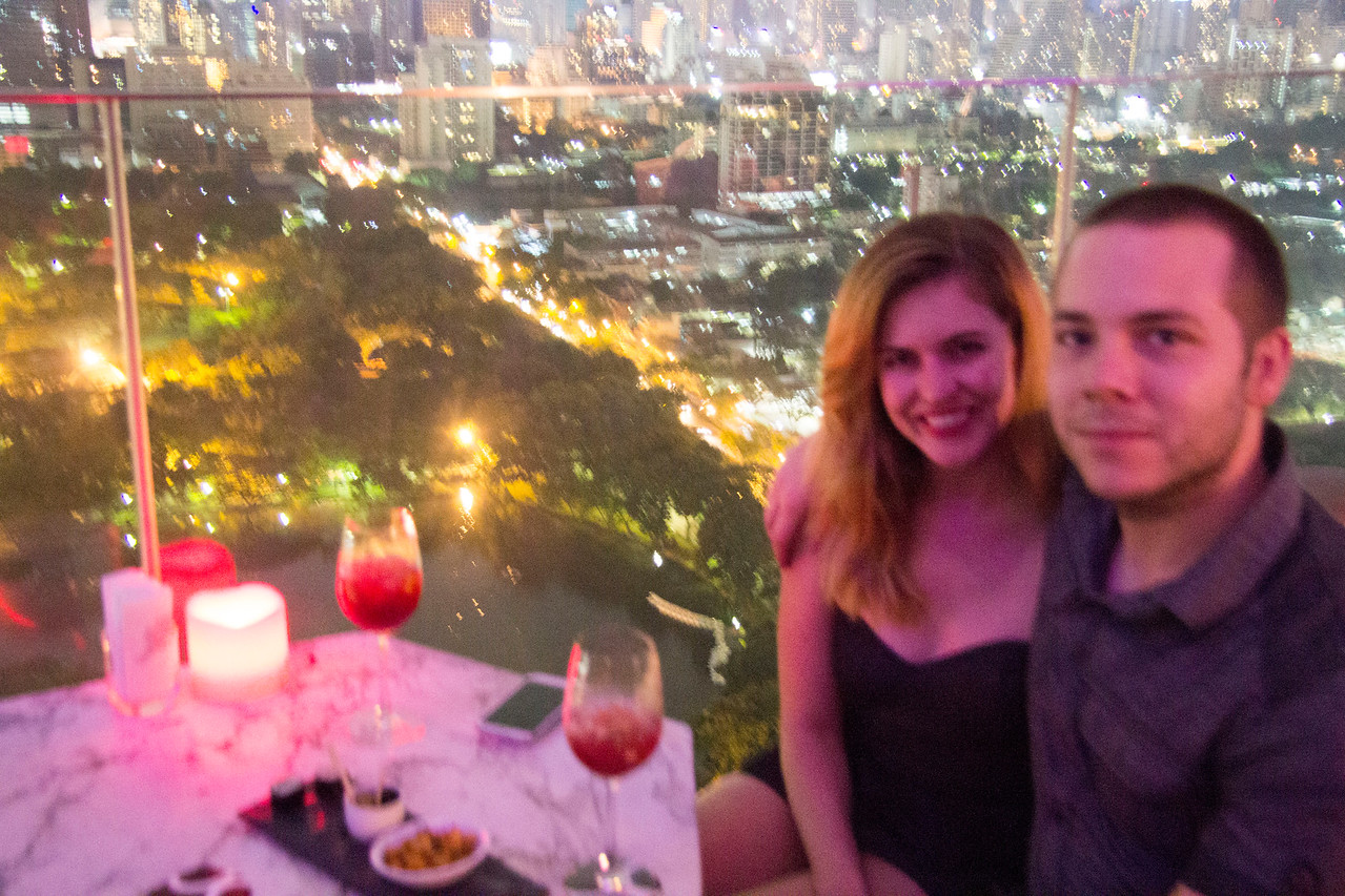 Thailand  Bangkok Sofitel Park Society and Hi-So rooftop bar