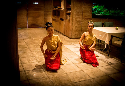 Thailand Thompson Restaurant and Wine Bar Traditional Thai Dancers