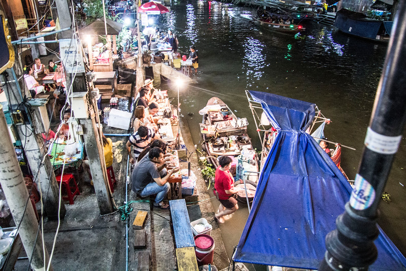 Thailand Amphawa Floating Market  Amphawa is the second most popular floating market near Bangkok, with visitors almost exclusively Thai