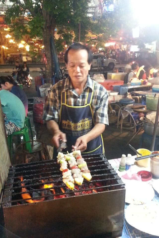 Thailand Phuket Dinner from little market
