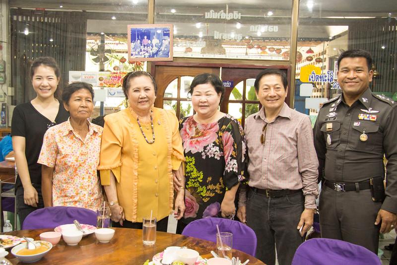 Thailand Nakhon Sawan woman is yellow is Assistant to The King's second daughter, Princess Maha Chakri Sirindhorn