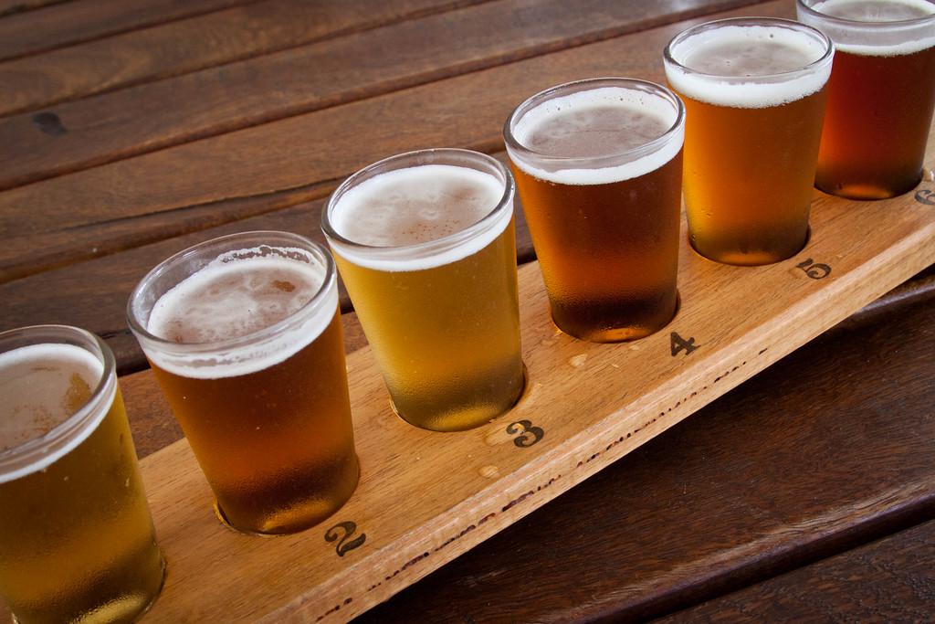 Beer Taster Rack