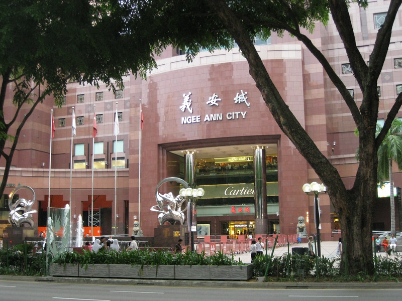 All A1 brands on Orchard Rd in Singapore