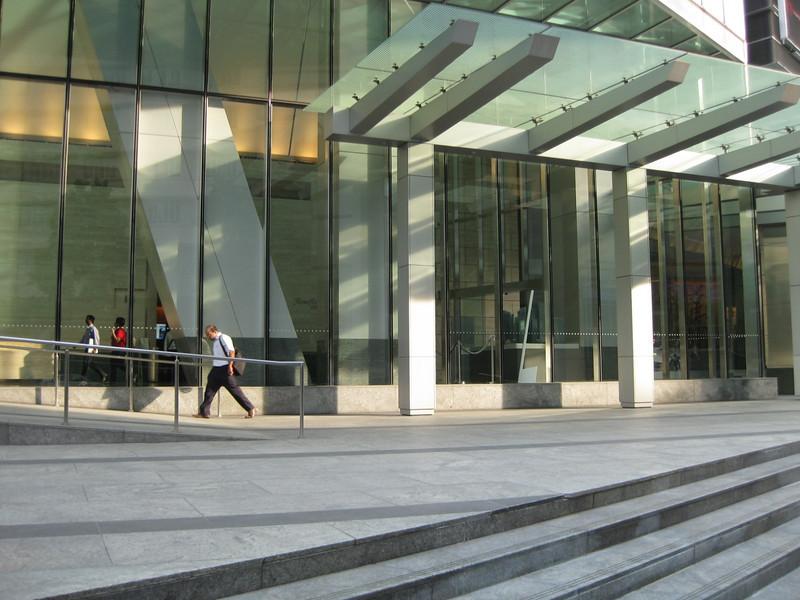 Concrete, light and glas
