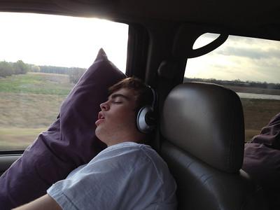 Ski Trip 2012 - Driving to Colorado - 3