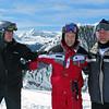 Bob Rugile, Geff Gioia and Tom Hill