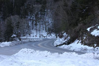 441 highway across the Smokey Mountains.