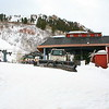 Aspen mountain's first ski lift.