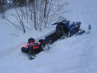 2005 Michigan Snowmobiling Trip