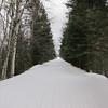 The North Frieda Loop trail was like a superhighway.