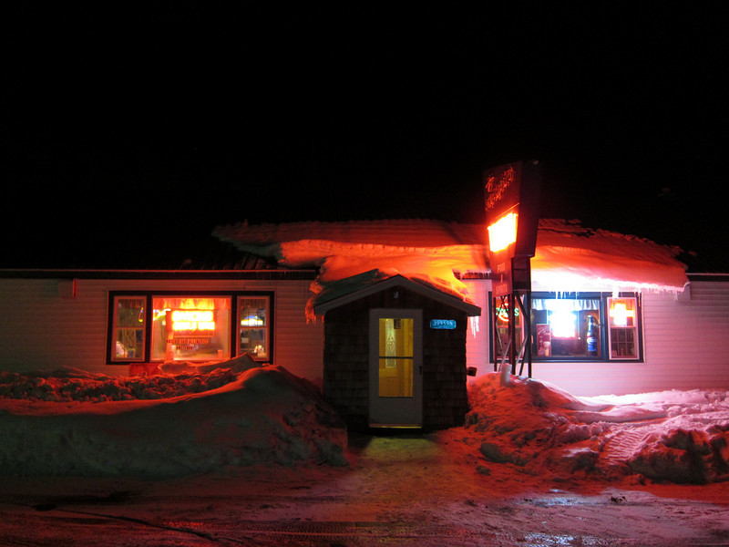 You can't sled in the UP without hitting the Mosquito bar.  Just look at the place!