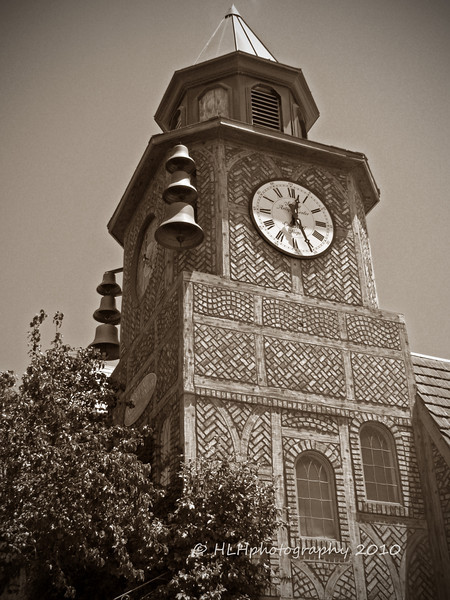 The Clock Tower, Solvang Antique Center <br /> <br /> Solvang, CA