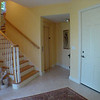 Entrance Hall on bottom floor with elevator, stairs and garage