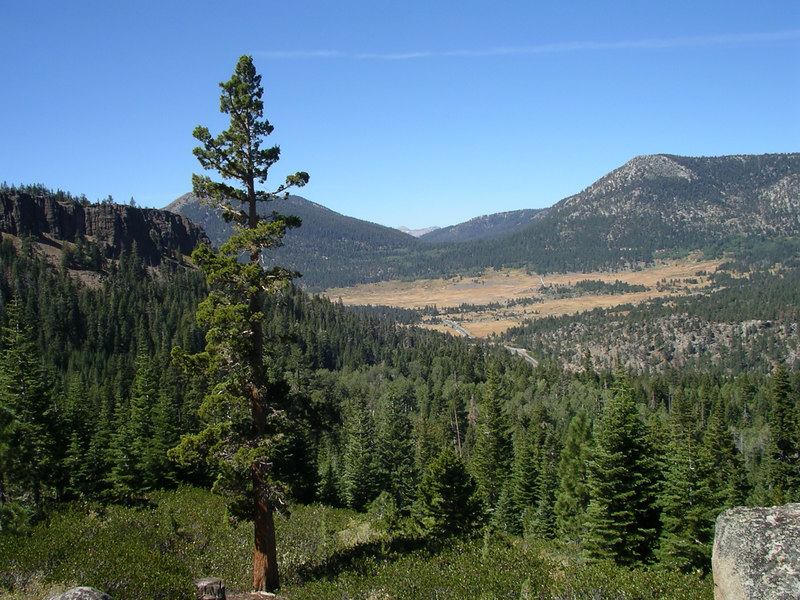 Hope Valley from Sorensen's Cliff Trail