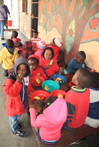 The kids really enjoyed the fruits we bought for them. They only get fresh fruits once every month or two when a Grand Circle tour group comes through the city.  It was March and their last visit had been in January!