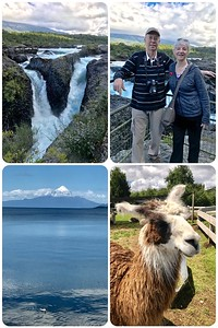 An enjoyable excursion to the Osorno Volcano and surrounding area. We even got up close and personal with some llamas.