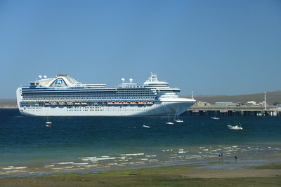 A picture of our ship, the Crown Princess. Just realized I had not posted a pic of our ship!