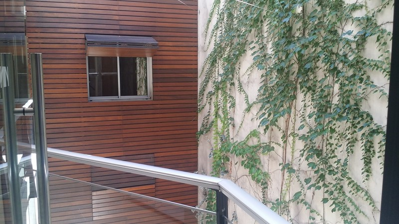 Interior courtyard at our hotel