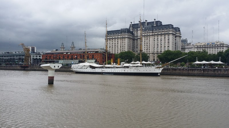 Sarmiento Frigate Ship