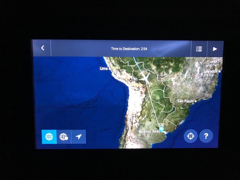 Over Bolivia