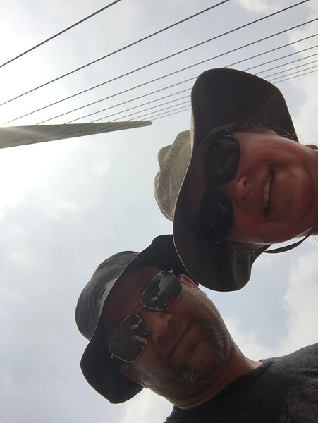 Puente De La Mujer selfie!