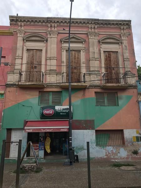 Storefront in the La Boca Neighborhood