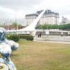Puente De La Mujer and street art