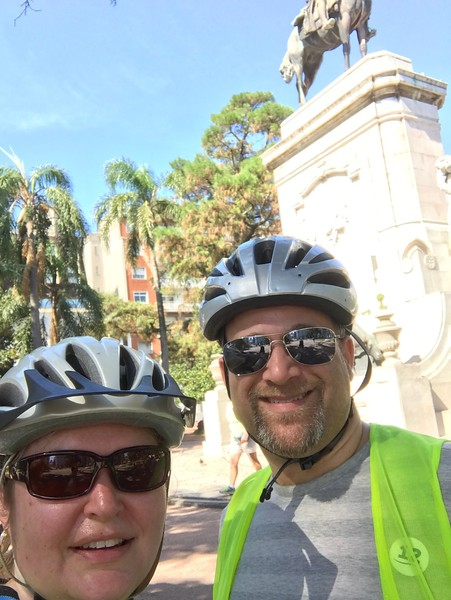 Did I mention we were on another bike tour?