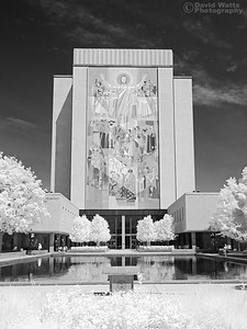Hesburgh Library Infrared