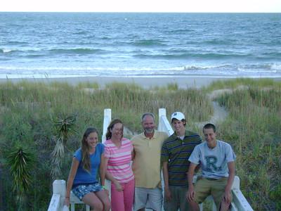 King Family:  Jena, Carol, Paul, Paul, John.