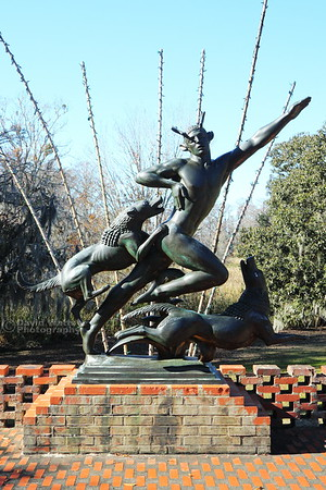 "Brookgreen Gardens ""Actaeon"""