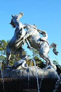 "Brookgreen Gardens ""Fighting Stallions"""