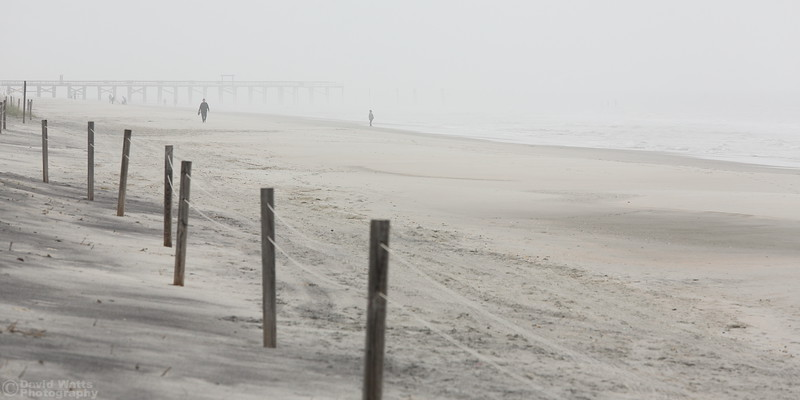 Myrtle Beach in Fog