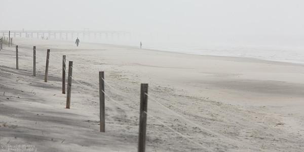 Myrtle Beach in Fog