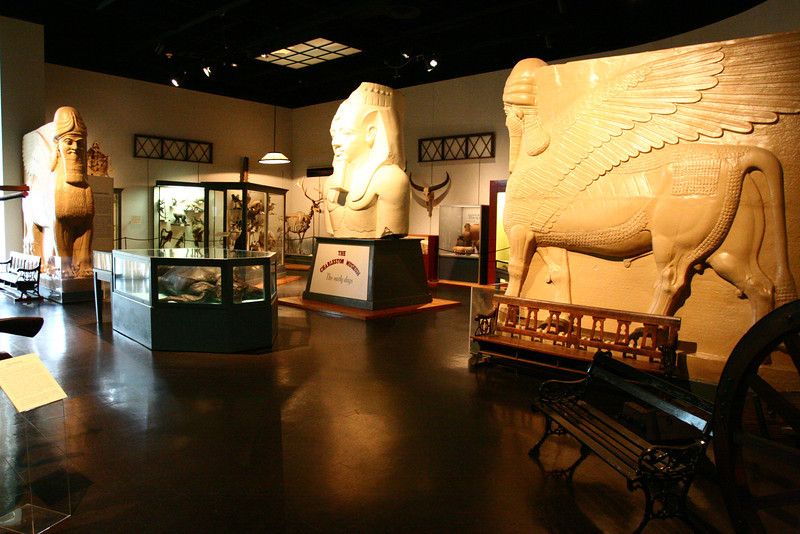 A view of some of the other egyptian casts they have.