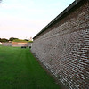From the corner of Fort Moultrie, on the outside.  The fort was closed so I wasn't able to go in.  I got there at about 6pm, the