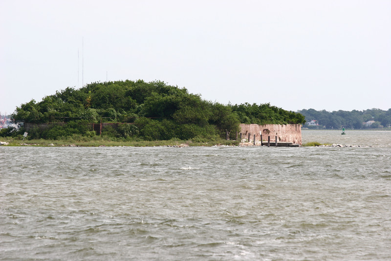 One of the other old forts in the bay.