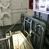 On the tour of the yorktown you see pretty much everything, and go down lots of hatches like this one.