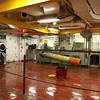 Torpedo Maininance room.  They didn't fire them, but they did drop them off airplanes and helicopters, so there's this room to m