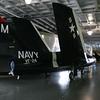 Inside the hanger deck of the Yorktown.  Wow is it big!