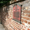 Wall on the Meeting Street side of The Joseph Manigault house.