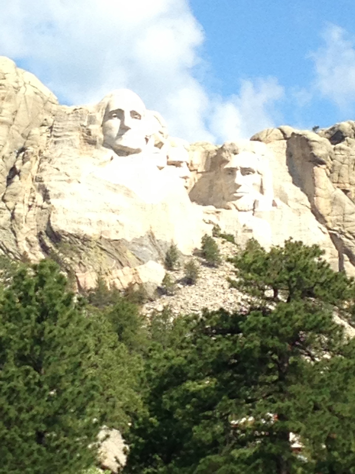 Mt. Rushmore, rapid City South Dakota