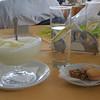 My new favorite thing: frozen lemon juice slush.
