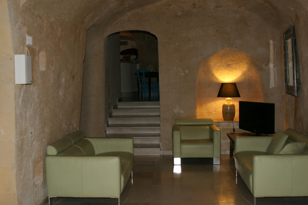 Many of the cave dwellings have been modernized like our hotel