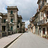 the rest of this beautiful town was deserted due to mid day hour