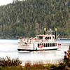 Two paddle-wheel tourist boats operate from South Lake Tahoe.