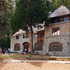 This Vikingsholm mansion was built in 1905 and is part of the state park system today. It is at the end of Emerald Bay with a beautiful view of the lake and mountains.