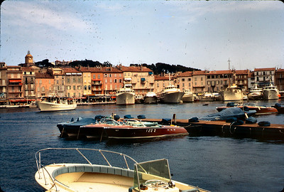 No trip to the French Rivierra is complete without a visit to San Tropez, very much a talking point in those days with the topless beaches.