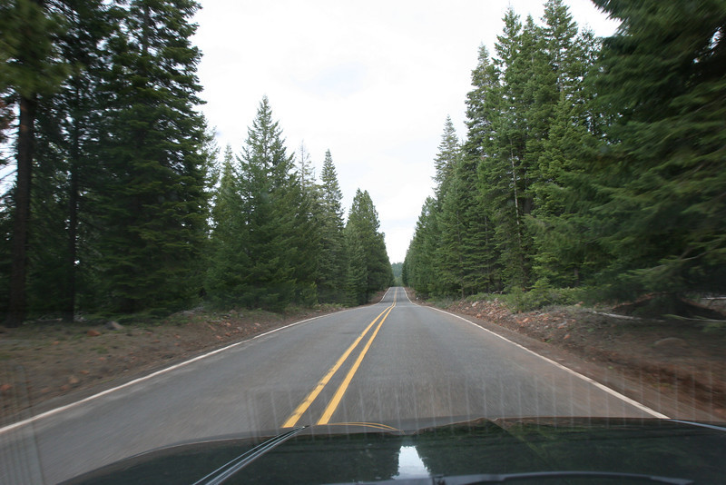 Some of these roads go strait forever.