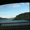 The columbia river, passing back into washington at the end of my long trip.